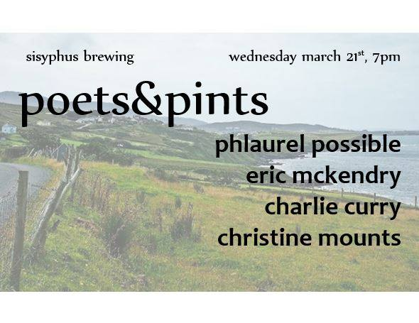 Reading- March 2018 Poets &Pints
