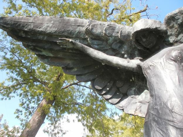 Black Angel Statue